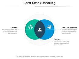 Gantt Chart Scheduling Ppt Powerpoint Presentation Inspiration Model Cpb