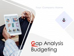 Gap Analysis Budgeting Powerpoint Presentation Slides