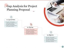 Gap Analysis For Project Planning Proposal Ppt Powerpoint Presentation Example File