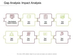 Gap Analysis Impact Analysis Ppt Powerpoint Presentation Gallery Infographic Template Cpb