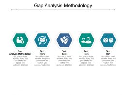 Gap Analysis Methodology Ppt Powerpoint Presentation Portfolio File Formats Cpb