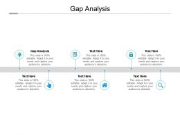 Gap Analysis Ppt Powerpoint Presentation Professional Information Cpb