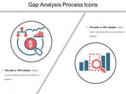 Gap Analysis Process Icons