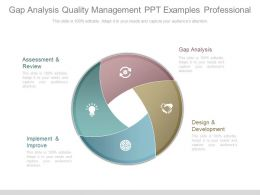 Gap Analysis Quality Management Ppt Examples Professional