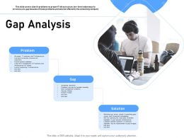 Gap Analysis Security Threats Ppt Powerpoint Presentation Background Images
