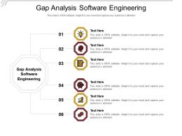 Gap Analysis Software Engineering Ppt Powerpoint Presentation Model Graphics Template Cpb