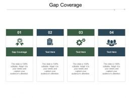 Gap Coverage Ppt Powerpoint Presentation Professional Designs Download Cpb