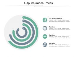 Gap Insurance Prices Ppt Powerpoint Presentation Icon Graphics Download Cpb