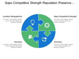 Gaps Competitive Strength Reputation Presence Image Location Geographical
