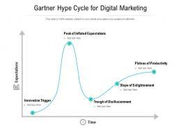 Gartner Hype Cycle For Digital Marketing