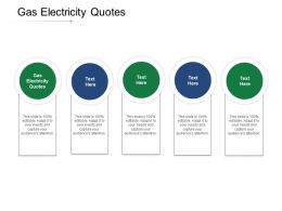 Gas Electricity Quotes Ppt Powerpoint Presentation Slides Examples Cpb