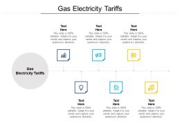 Gas Electricity Tariffs Ppt Powerpoint Presentation Layouts Inspiration Cpb
