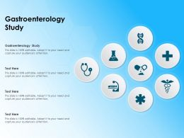 Gastroenterology Study Ppt Powerpoint Presentation Slides Examples