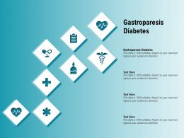 Gastroparesis Diabetes Ppt Powerpoint Presentation Styles Background Images