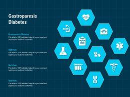 Gastroparesis Diabetes Ppt Powerpoint Presentation Styles Ideas