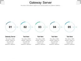 Gateway Server Ppt Powerpoint Presentation Summary Graphic Tips Cpb