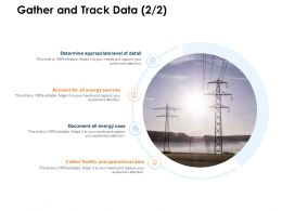Gather And Track Data Sources Ppt Powerpoint Presentation Images