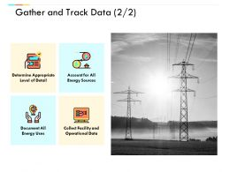 Gather And Track Data Technology Marketing Ppt Powerpoint Presentation Ideas Introduction