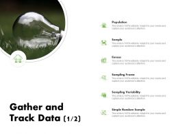 Gather And Track Data Variability Ppt Powerpoint Presentation Slide