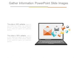 Gather Information Powerpoint Slide Images