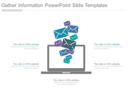 Gather Information Powerpoint Slide Templates