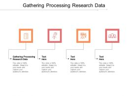 Gathering Processing Research Data Ppt Powerpoint Presentation Icon Example Introduction Cpb