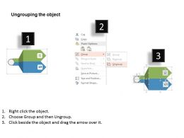 Gb Two Staged One To Many Arrows With Dollar Symbols Flat Powerpoint Design