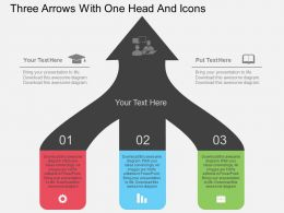 gc_three_arrows_with_one_head_and_icons_flat_powerpoint_design_Slide01