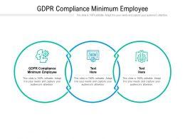 GDPR Compliance Minimum Employee Ppt Powerpoint Presentation Model Layout Ideas Cpb