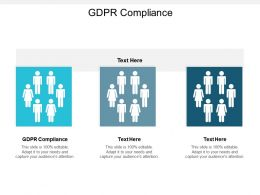 GDPR Compliance Ppt Powerpoint Presentation Infographic Template Cpb