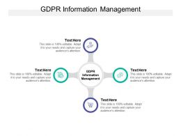GDPR Information Management Ppt Powerpoint Presentation Infographic Template Cpb
