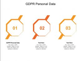 GDPR Personal Data Ppt Powerpoint Presentation Infographic Template Icon Cpb