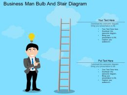 ge_business_man_bulb_and_stair_diagram_flat_powerpoint_design_Slide01