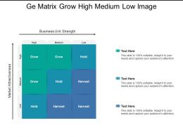 Ge Matrix Grow High Medium Low Image