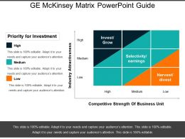 Ge Mckinsey Matrix Powerpoint Guide