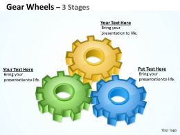 Gear Wheels 3 Stages