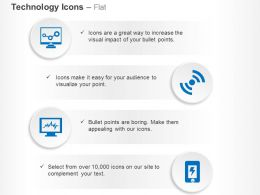 Gears Computer Wifi Mobile Power Ppt Icons Graphics