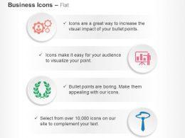 gears_data_analysis_laurel_tie_ppt_icons_graphics_Slide01