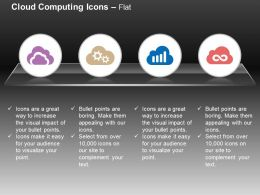 Gears Data Management Cloud Services Ppt Icons Graphics