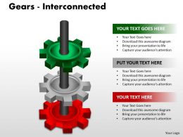 Gears Interconnected PPT 1