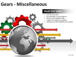 Gears Misc Powerpoint Presentation Slides
