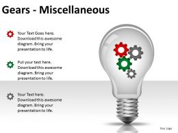 Gears Misc PPT 4