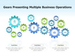 Gears Presenting Multiple Business Operations