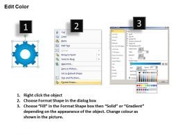 92878627 Style Variety 1 Gears 9 Piece Powerpoint Presentation Diagram Infographic Slide