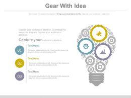5791495 Style Variety 3 Idea-Bulb 3 Piece Powerpoint Presentation Diagram Infographic Slide