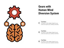 Gears With Human Mind Diversion System