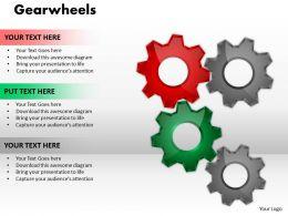 Gearwheels 8