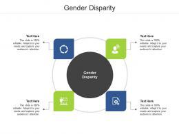 Gender Disparity Ppt Powerpoint Presentation Gallery Graphics Tutorials Cpb