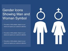 Gender Icons Showing Man And Woman Symbol