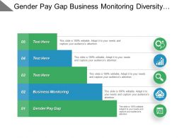 Gender Pay Gap Business Monitoring Diversity Advertising Retailers Suppliers Cpb